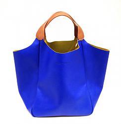 сумка на весну - какая она?-collezione-cruciani-borsa-blu-jpg