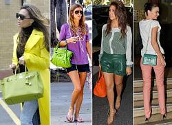Цвет сумки и обуви - должен ли быть одинаковым?-sumki9-jpg