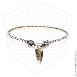 Сочетание золота и серебра!-d1615991667-ukrasheniya-shejnaya-grivna-serebro-zoloto-n6484-jpg