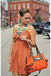 Сумка под цвет одежды. Новый тренд?-carrot-orange-michael-kors-bag-jpg