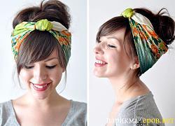 """Модная """"одежда""""  для волос-pricheski-s-platkom-jpg"""