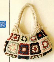 Летние вязанные сумки-70-jpg