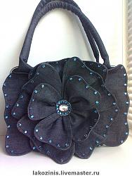 Джинсовые сумки-bfa1968613-sumki-aksessuary-dzhinsovaya-sumka-tsvetok-n7464-jpg