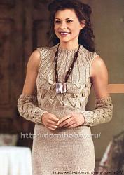 Какая бижутерия подходит к вязанной одежде?-97443675_1326601816_platespicami-jpg