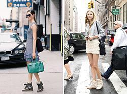 Спортивная обувь под классические платья-foto-kedy-na-tanketke-jpg