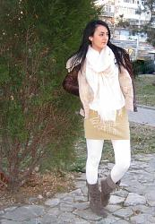 Белые колготки.-hm-light-pink-united-colors-benetton-scarves-echarpeslook-main-single-jpg