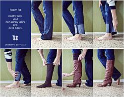 Брюки и джинсы заправленные  в сапоги!-70fe27481cebdc-jpg