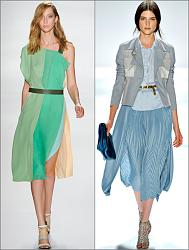 Сочетание разных оттенков цвета в одежде.-mono-jpg