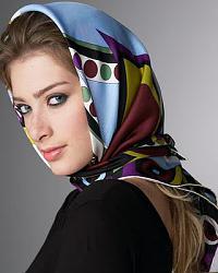 Платок и капюшон, - как сочетается?-headscarves-jpg