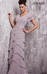 Вечерние платья Jovani-short-sleeve-ruched-waist-evening-gown-jovani-eveningalt7-jpg