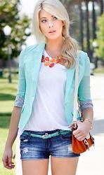 Мятный цвет в весенне-летней одежде-1-jpg