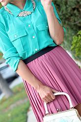 Мятный цвет в весенне-летней одежде-gosh-2-jpg