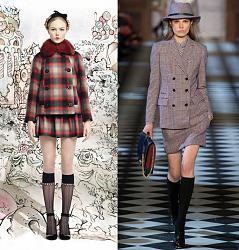Одежда в клетку - новый тренд сезона-red-valentino-tommy-hilfiger-jpg