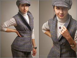 Одежда в клетку - новый тренд сезона-zhiletka_kletka-jpg