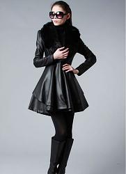 Платья и брюки из натуральной кожи-kozhanoe_palto-jpg