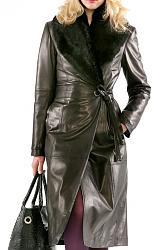 Платья и брюки из натуральной кожи-577z8-jpg