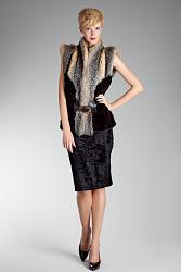 Натуральный мех в одежде-1379938817_sleeveless_winter_2013_2014_10-jpg