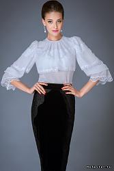 Какое белье носить под белую шифоновую блузку-1-jpg