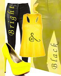 Яркие туфли в моде-bright_and_black-jpg