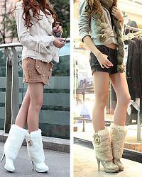 Меховая зимняя обувь -тренд сезона-set_winter_boots_1-jpg