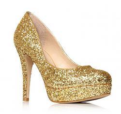 Золотые туфли - с чем носить-11-4-jpg