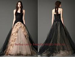 Цветные свадебные платья в моде!-8-jpg