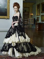 Цветные свадебные платья в моде!-ian-stuart-wedding-dresses-2012-jpg