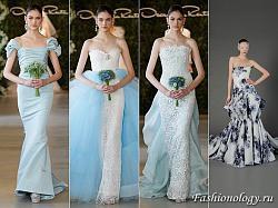 Цветные свадебные платья в моде!-oscar-de-la-renta-douglas-hannant-modnye-cvetnye-svadebnye-platya-20-jpg