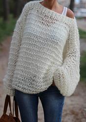 С чем носить свитера крупной вязки?-298591763-jpg