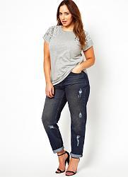 Что надеть с джинсами в обтяжку?-letnyaya_moda_dlya_polnyh_2013_3-jpg