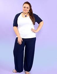 Широкие штаны галифе-884-jpg