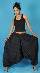 Широкие штаны галифе-pants-harem-style11-jpg