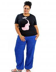 Широкие штаны галифе-1045-jpg