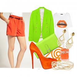 Салатовая блузка - с каким цветом юбки совместима?-3-jpg
