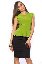 Салатовая блузка - с каким цветом юбки совместима?-225_zoom-jpg
