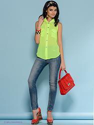 Салатовая блузка - с каким цветом юбки совместима?-1422965-3-jpg