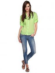 Салатовая блузка - с каким цветом юбки совместима?-1605850-3-jpg
