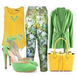 Салатовая блузка - с каким цветом юбки совместима?-myatnye-tufli-11-jpg