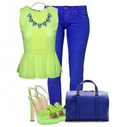 Салатовая блузка - с каким цветом юбки совместима?-salatovye-bosonozhki-6-jpg