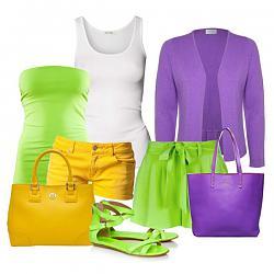 Салатовая блузка - с каким цветом юбки совместима?-s-chem-nosit-zelenye-bosonozhki-8-jpg
