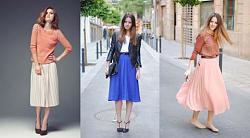 С чем носить плиссированную шерстяную юбку-skirt7-jpg