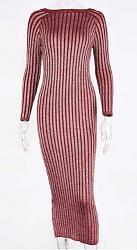 с чем носить бордовое платье-snimok-jpg