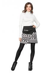 С чем носить плиссированную шерстяную юбку-obtjagivajushhuju-vodolazku-jpg