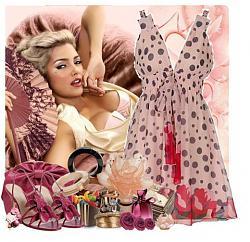 Фасон летнего платья из шифона-11-9-jpg
