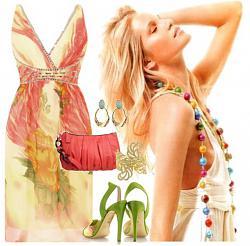 Фасон летнего платья из шифона-11-12-jpg
