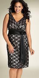 Шикарные праздничные платья для полных женщин-2-jpg