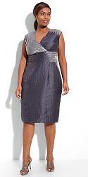 Шикарные праздничные платья для полных женщин-14-jpg