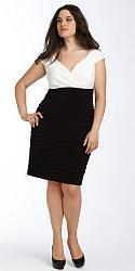 Шикарные праздничные платья для полных женщин-22-jpg