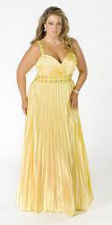 Шикарные праздничные платья для полных женщин-182-jpg