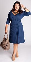 Шикарные праздничные платья для полных женщин-185-jpg